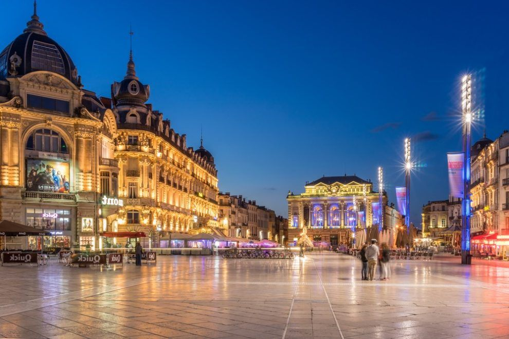 Montpellier_by_night